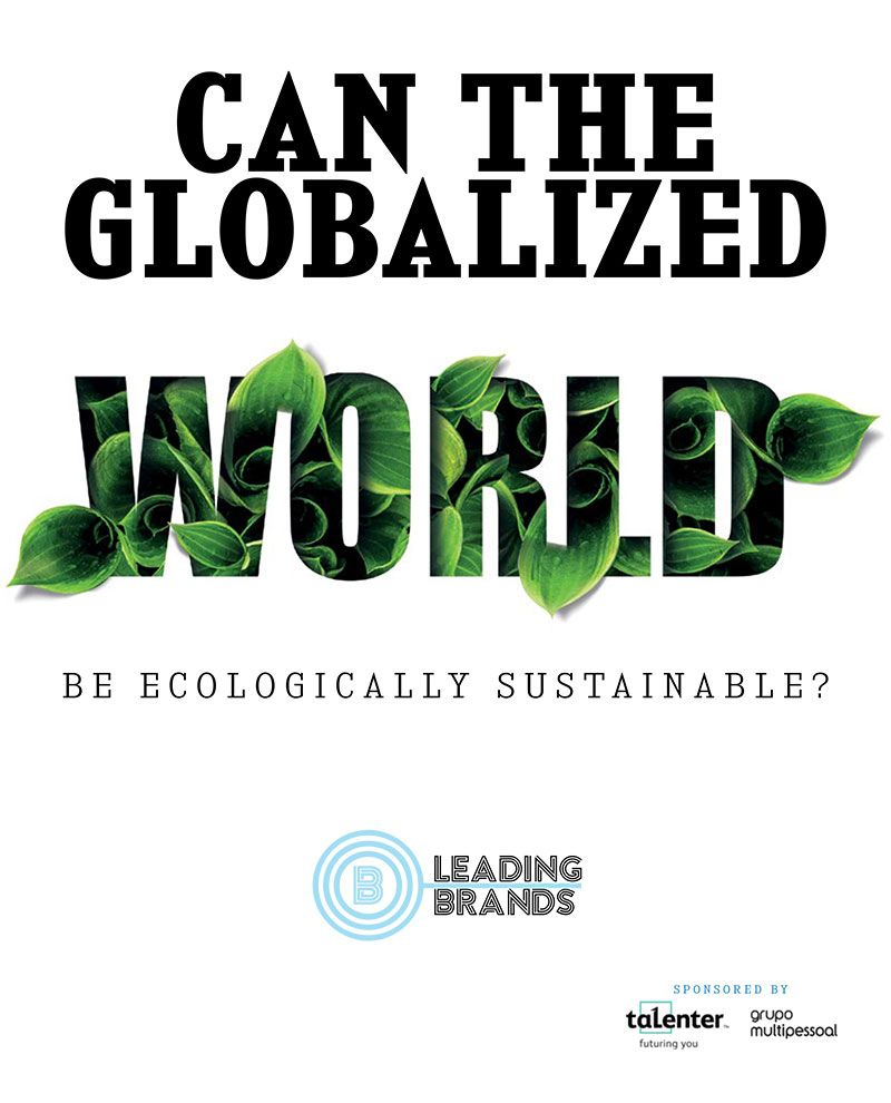 Can the globalized world be ecologically sustainable?